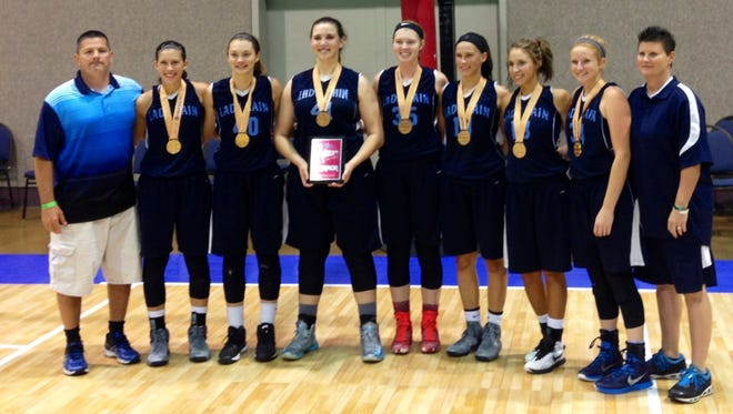Avery County rising senior Jessica Hoilman is a member of the East Tennessee Rain AAU basketball team.