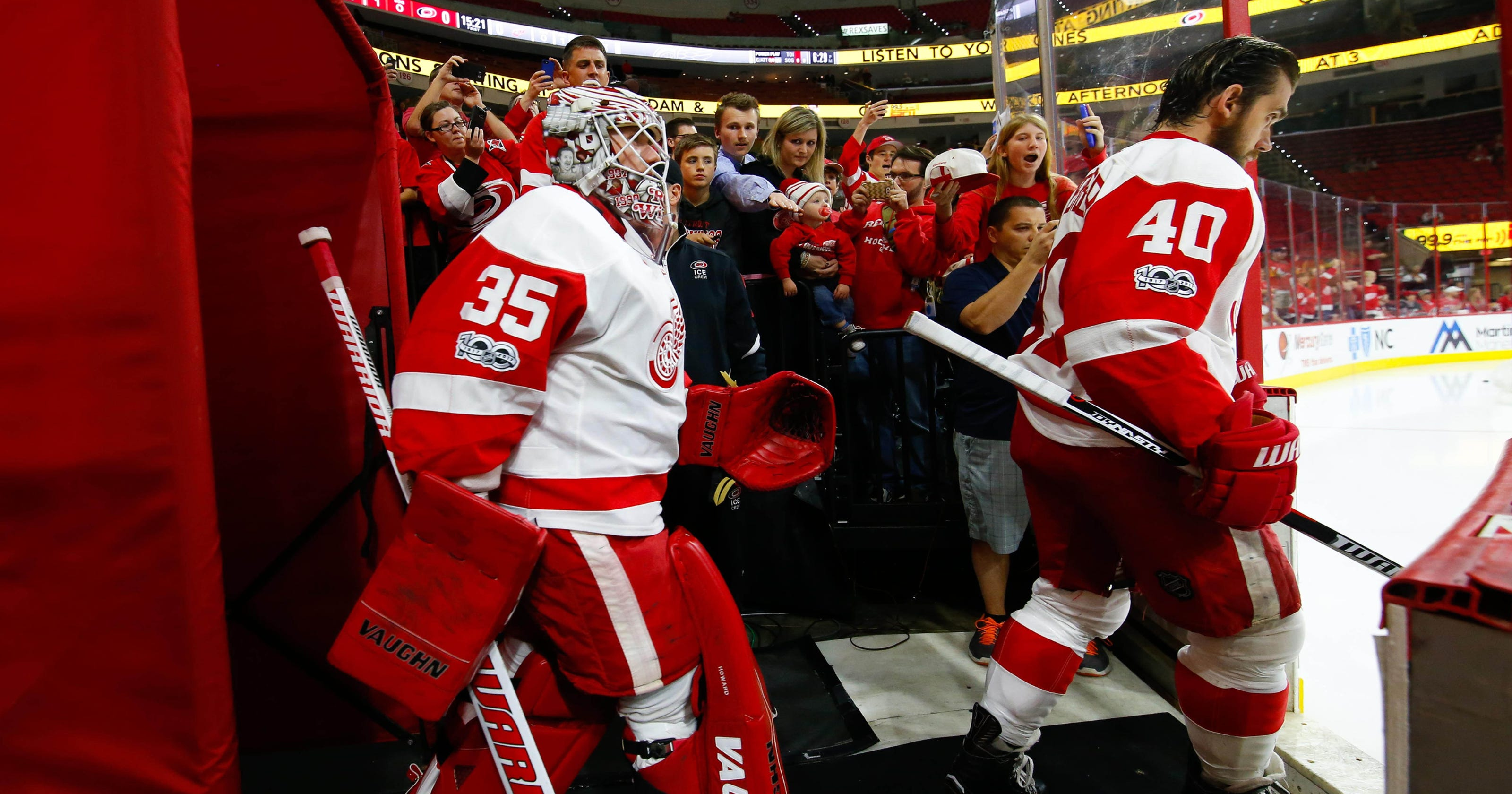 cf1ac61ca Detroit Red Wings  playoff streak was great