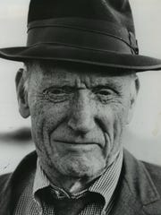 Author Robert Penn Warren is shown in this undated