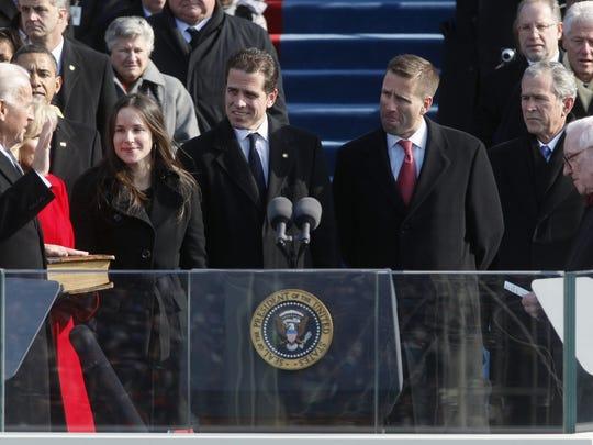 Joe Biden is sworn in as vice president by Justice