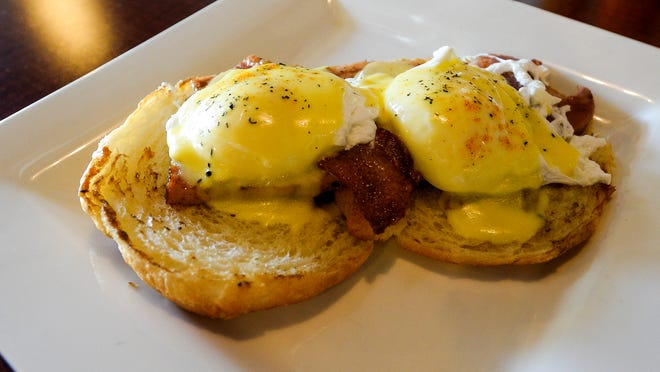 The Butters Eggs Benedict is one of many breakfast items offered at Butters, a new restaurant in Fort Collins.