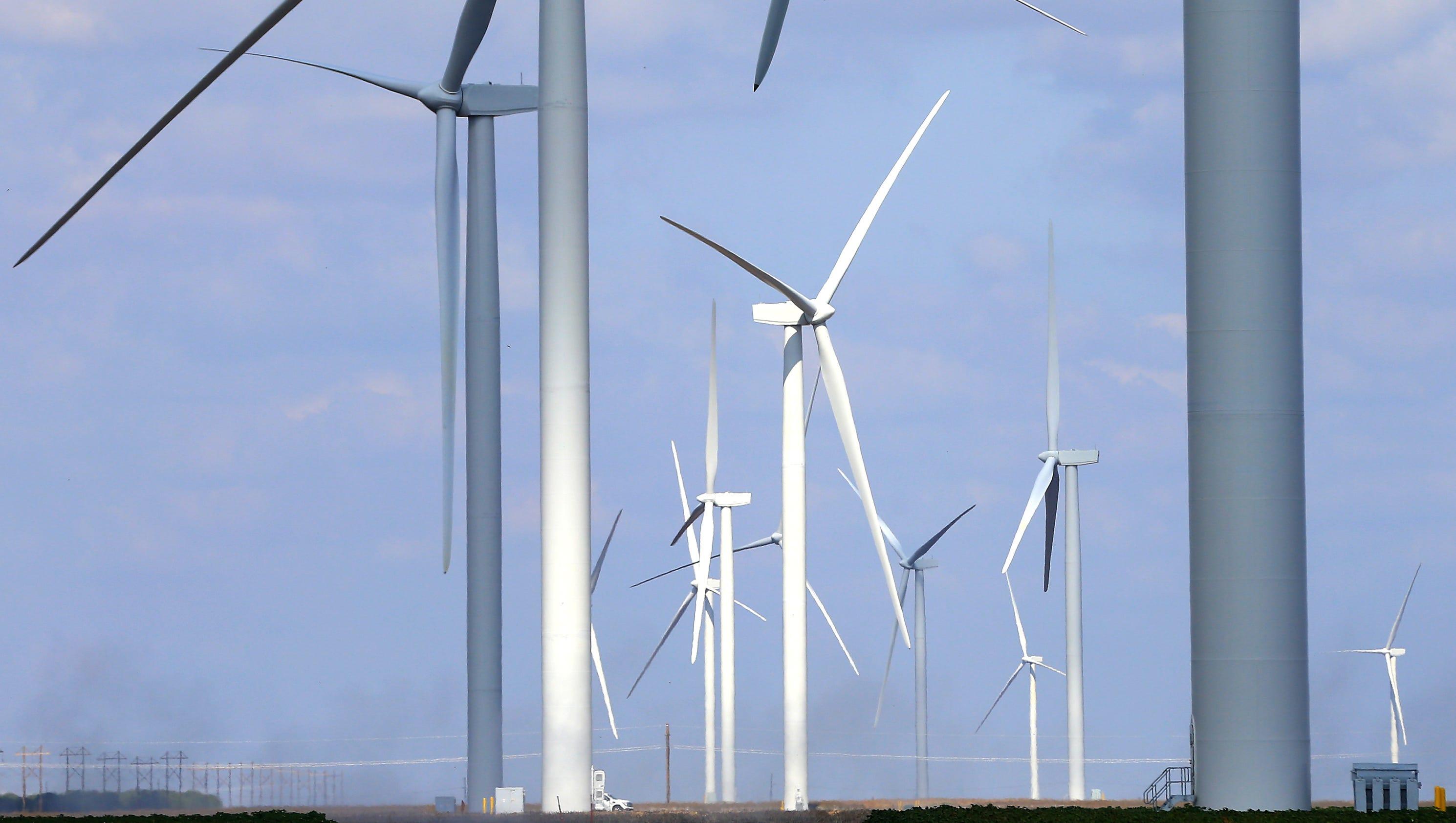 Chapman Ranch Wind Farm project nears pletion