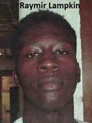 Raymir Lampkin is one of four teens who escaped from
