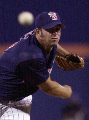Heath Bell pitched in parts of three seasons for the B-Mets in the early 2000's, amassing a 4-1 record with 10 saves in 68 games. He will be inducted into Binghamton's Baseball Shrine on Sept. 2