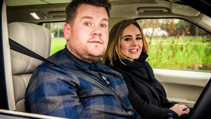 Adele, right, has boosted the YouTube fuel mileage