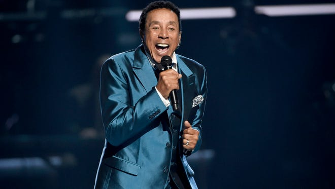 FILE - In this June 28, 2015, file photo, Smokey Robinson performs at the BET Awards in Los Angeles.