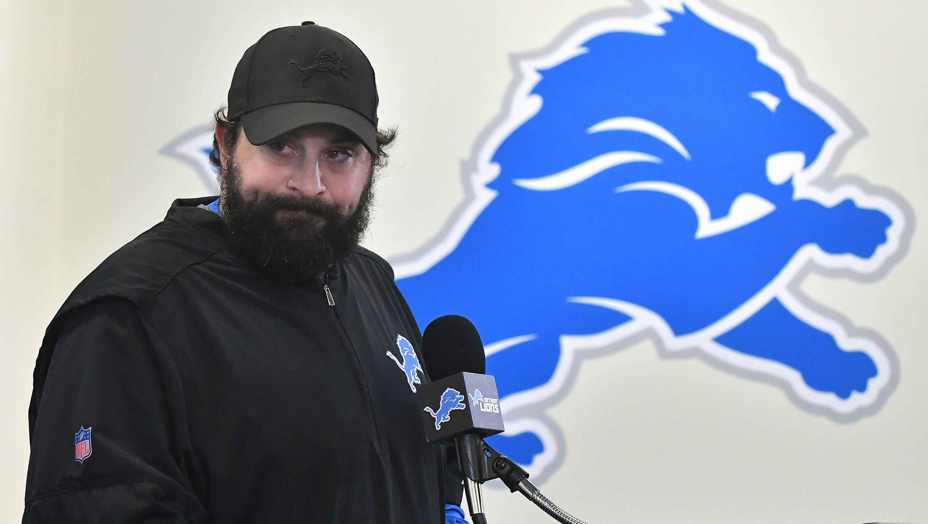Lions' Patricia done talking about 1996 allegations