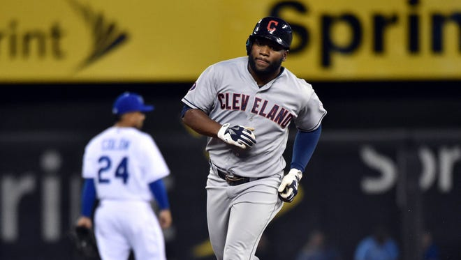 Abraham Almonte was acquired by the Indians at the trade deadline.