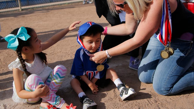 Tatum's Garden Foundation and Toro Pony Baseball League hosted Champions Day on Saturday at Toro Park Elementary in Salinas.