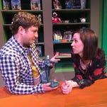 """Patrick O'Connor Cronin and Katherine Banks in Performance Network Theatre's production of """"Salvage,"""" a new play from Michigan playwright Joseph Zettelmaier."""