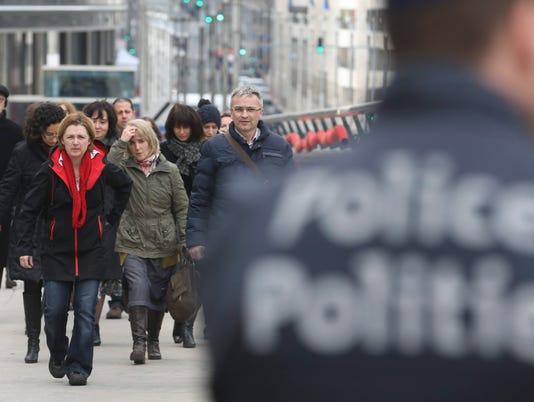 EPA BELGIUM BRUSSELS TERROR ATTACKS WAR ACTS OF TERROR BEL