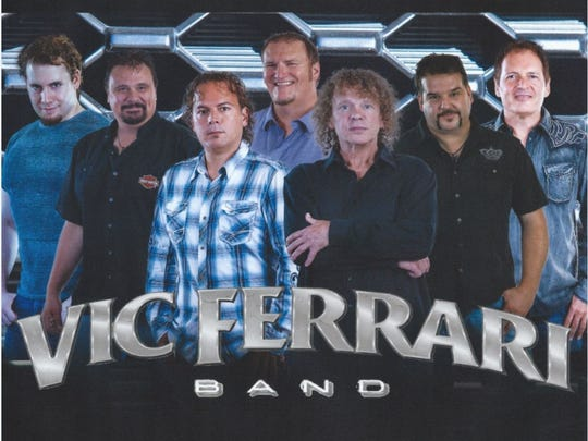 Local favorite Vic Ferrari Band will open up the county