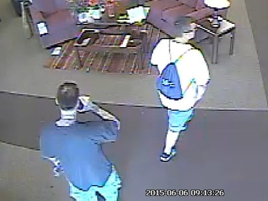 Suspects in a robbery at Buddy's Home Furnishing in Fort Myers.
