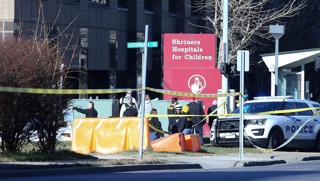 Police responded to an active shooting situation at UC Medical Center, Wednesday, Dec. 20.