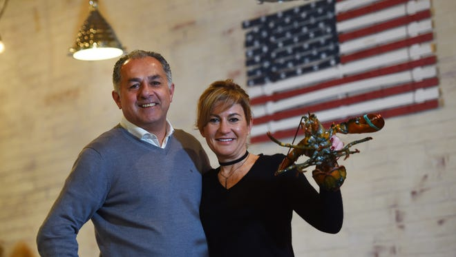 Jack and Aline Tabibian, owners of Jack's Lobster Shack.