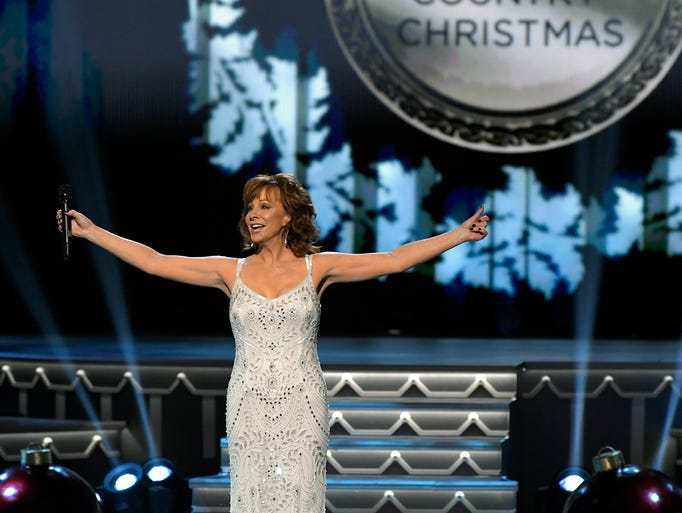 Reba McEntire hosts the 8th annual CMA Country Christmas