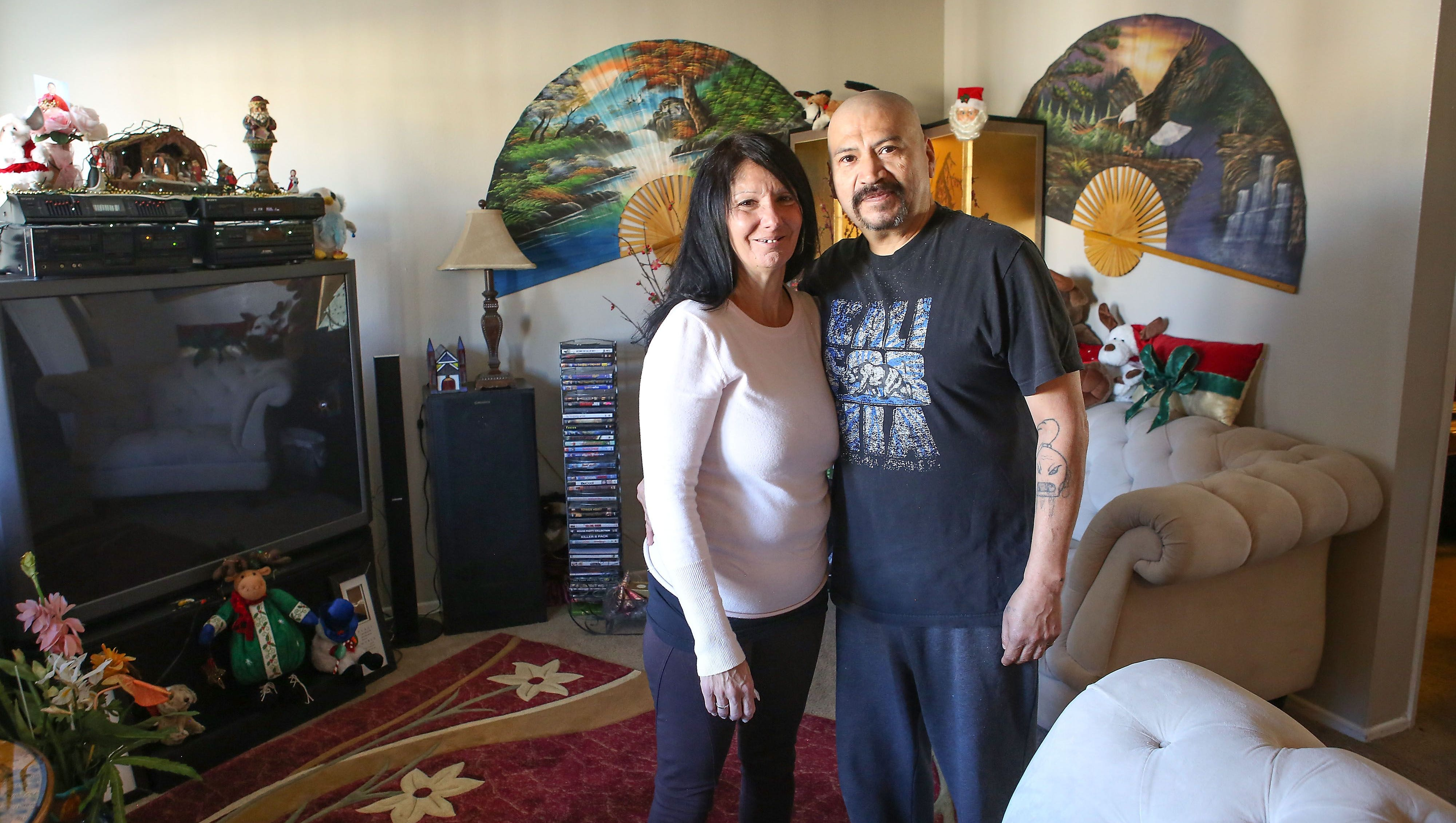 Homelessness in the valley: This couple was homeless for seven years. Now they're adjusting to life in an apartment