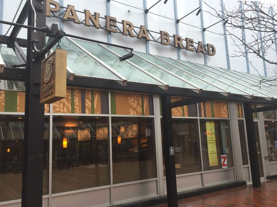 Panera Bread announced its restaurant on the Church Street Marketplace in Burlington, seen here on Friday, Jan. 12, 2018, will close on Jan. 15.