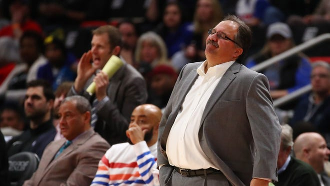 Pistons president/coach Stan Van Gundy is in Year 4 of a 5-year contract.