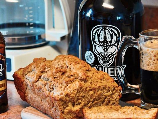 The Happy Baker's beer bread.