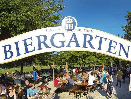 Estabrook Biergarten