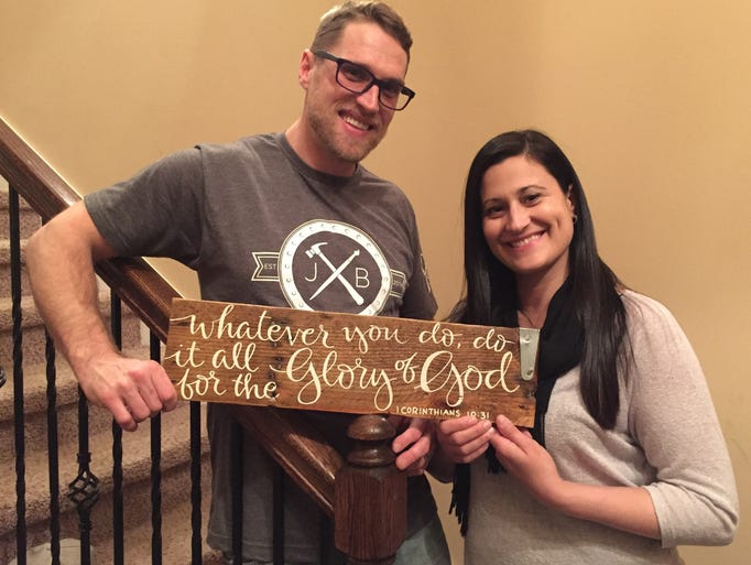 Justin and Jessica Beshearse of JB Designs in Smyrna