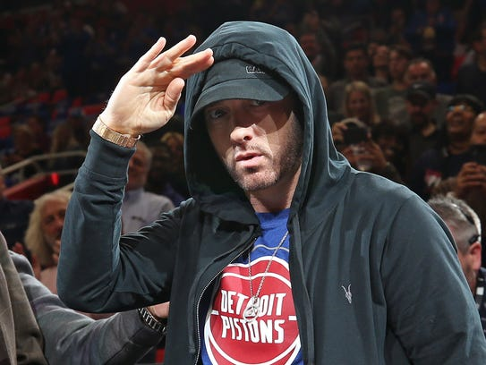 Eminem is dropping clues that could be tied to the