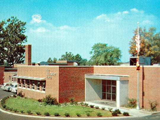 Taken soon after The Salisbury Times building opened in 1958, this postcard photo shows the 35,000 square-foot structure on its almost two-acre site on Carroll Street in Salisbury.