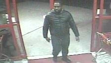 Police say the man pictured here used a stolen credit card in November at Spirits Unlimited, taking up to $800 worth of merchandise.
