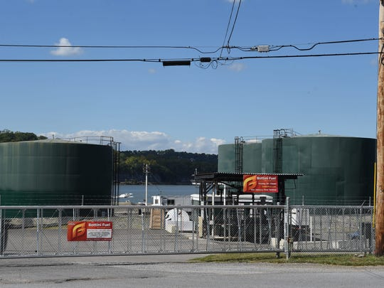 The Bottini Fuel terminal in New Hamburg is seen in