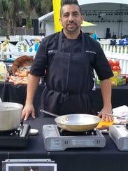 Chef Aldo Ramirez of Spritz City Bistro recently compete