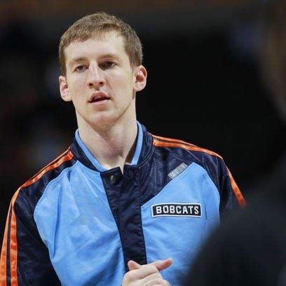 Cody Zeller, former IU player is now with the Charlotte