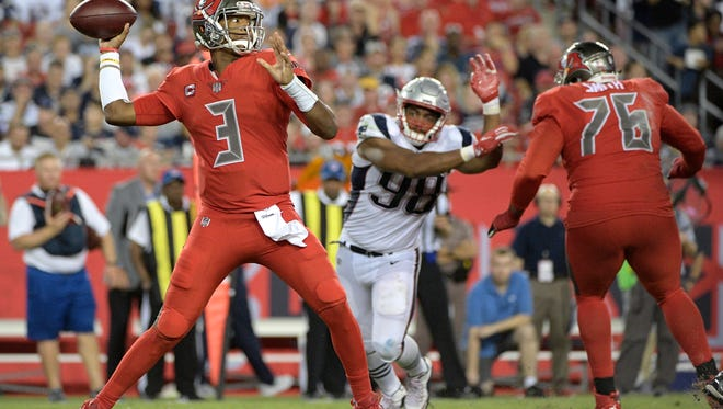 Tampa Bay Buccaneers quarterback Jameis Winston comes to New Era Field on Oct. 22. The first overall pick in 2015 and Heisman Trophy winner in 2013 led his team to a 9-7 record last season and are off to a 2-2 start this year.