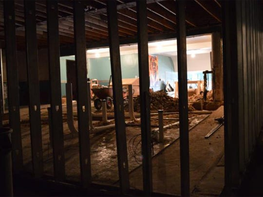 Renovations continue at the Capri Theatre, but an opening