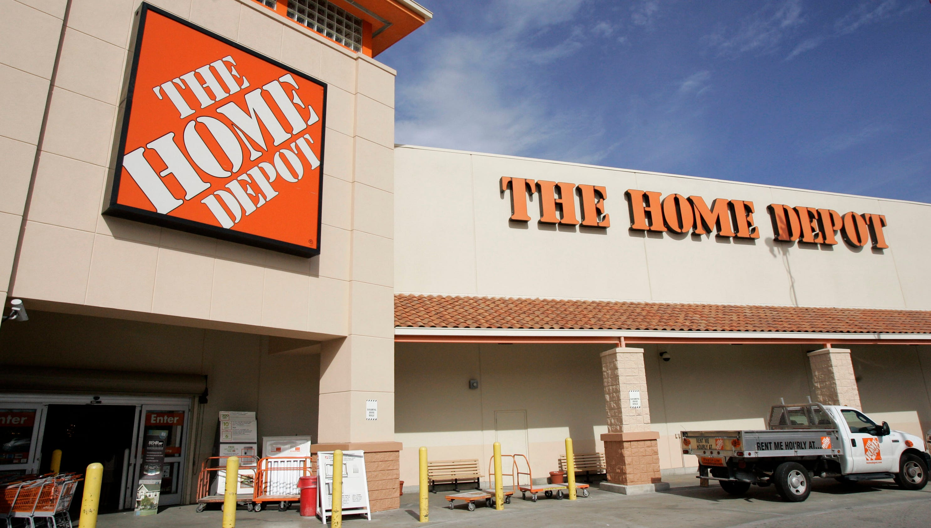 Surging home sales boost home depot earnings for R home depot