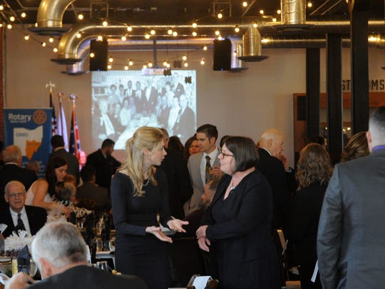 Approximately 200 people attended the Lancaster Rotary