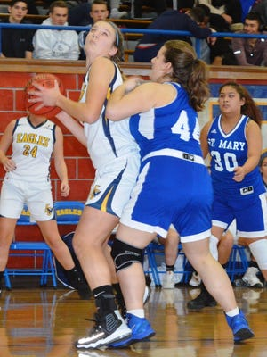 Eastern Christian's Madison Wynbeek (left) is one of the top players in the Colonial division.