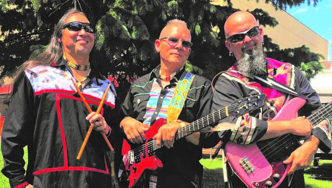The Broken Walls band will perform Friday in Mescalero.