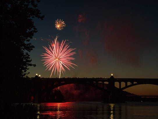 Tim Senft of Hallam submitted this photo of the Fourth