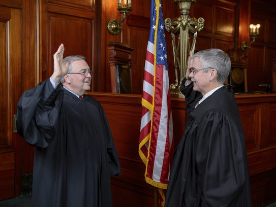 On Dec. 8, 2015, newly elected Circuit Court Judge