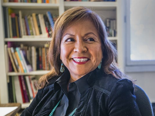 Navajo Nation poet laureate Laura Tohe