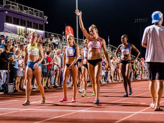 Memphis High School Distance Runners Inspired Amazed At Murphey Mile