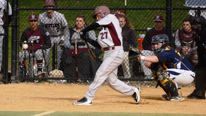 Marty Higgins was 3-for-4 with two RBI and two runs as Nutley topped Columbia.