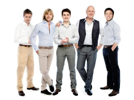 Celtic Thunder will perform traditional tunes and Christmas favorites 7:30 p.m. Sunday, Nov. 27, at Hershey Theatre.
