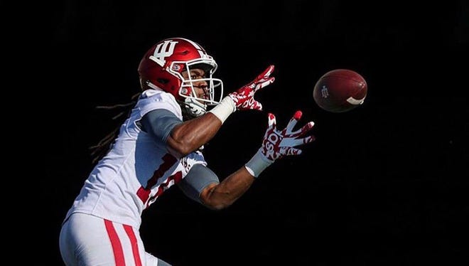 David Felton is a walk-on wide receiver at Indiana after starring at Evansville Harrison High School.