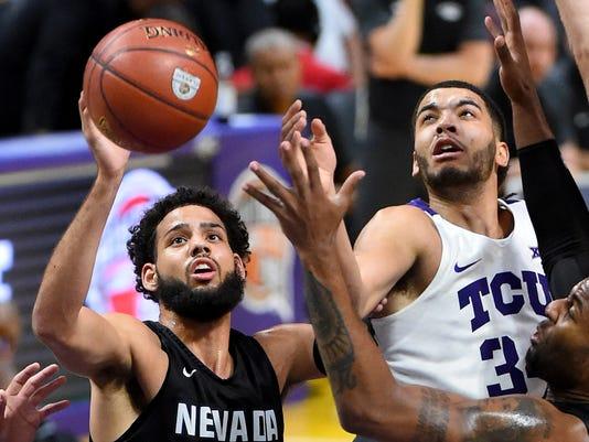 NCAA Basketball: Texas Christian at Nevada