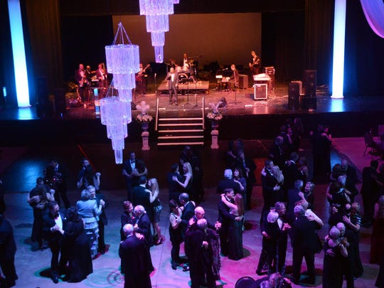 Couples dance at the Jackson Symphony's 2014 Crystal Ball at the Carl Perkins Civic Center. This year's Crystal Ball is set for Jan. 28.