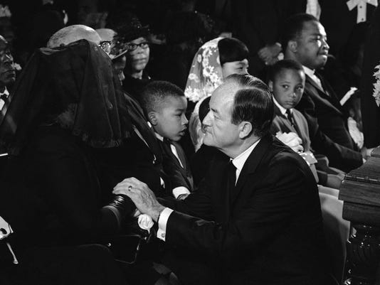 Hubert Humphrey, Coretta King
