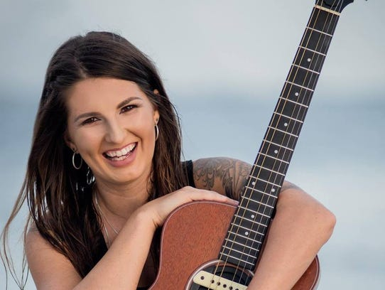 Country music singer Sheena Brook of Fort Myers Beach