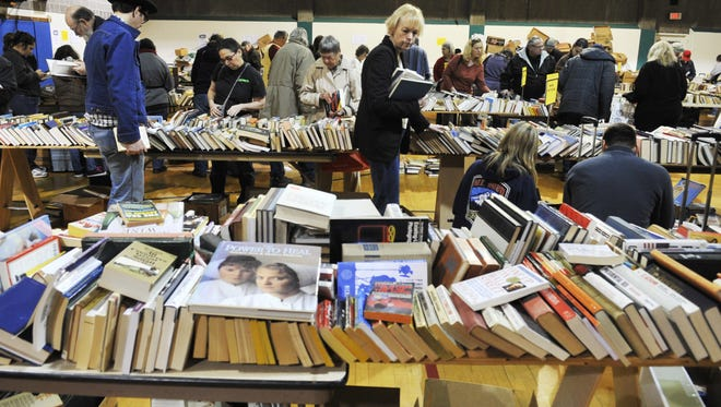 The annual YMCA Used Book Sale takes place March 4-6.